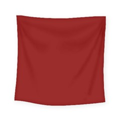 Plain Blue Red Square Tapestry (small) by Jojostore