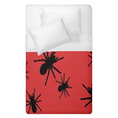 Illustration With Spiders Duvet Cover (single Size) by Nexatart