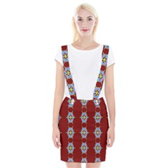 Geometric Seamless Pattern Digital Computer Graphic Wallpaper Suspender Skirt by Nexatart