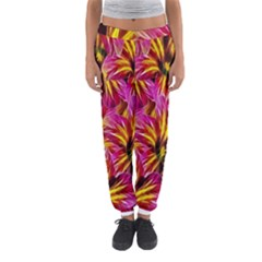 Floral Pattern Background Seamless Women s Jogger Sweatpants by Nexatart