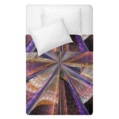 Background Image With Wheel Of Fortune Duvet Cover Double Side (single Size) by Nexatart