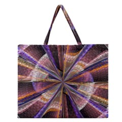 Background Image With Wheel Of Fortune Zipper Large Tote Bag by Nexatart