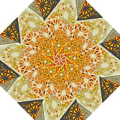 Abstract Starburst Background Wallpaper Of Metal Starburst Decoration With Orange And Yellow Back Straight Umbrellas by Nexatart