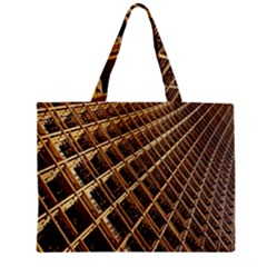 Construction Site Rusty Frames Making A Construction Site Abstract Mini Tote Bag by Nexatart