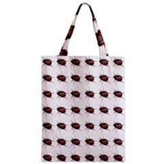 Insect Pattern Zipper Classic Tote Bag by Nexatart
