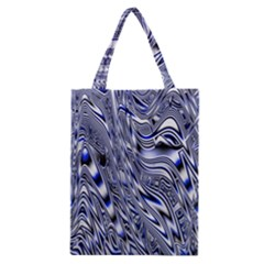 Aliens Music Notes Background Wallpaper Classic Tote Bag by Nexatart