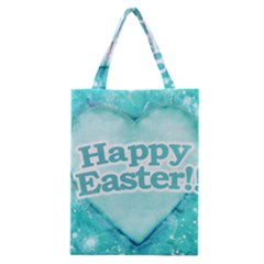 Happy Easter Theme Graphic Classic Tote Bag by dflcprints