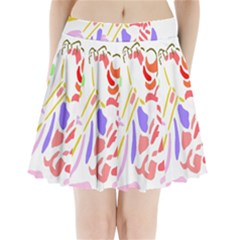 Motorcycle Racing The Slip Motorcycle Pleated Mini Skirt by Nexatart
