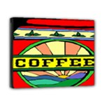 Coffee Tin A Classic Illustration Canvas 10  x 8