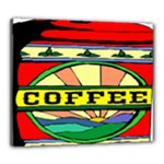 Coffee Tin A Classic Illustration Canvas 24  x 20