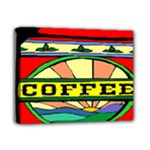 Coffee Tin A Classic Illustration Deluxe Canvas 14  x 11