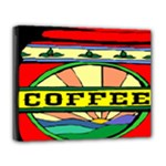 Coffee Tin A Classic Illustration Deluxe Canvas 20  x 16