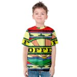 Coffee Tin A Classic Illustration Kids  Cotton Tee