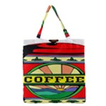 Coffee Tin A Classic Illustration Grocery Tote Bag