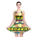 Coffee Tin A Classic Illustration Reversible Skater Dress