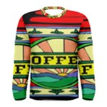 Coffee Tin A Classic Illustration Men s Long Sleeve Tee