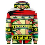 Coffee Tin A Classic Illustration Men s Zipper Hoodie