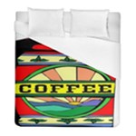 Coffee Tin A Classic Illustration Duvet Cover (Full/ Double Size)
