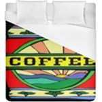 Coffee Tin A Classic Illustration Duvet Cover (King Size)