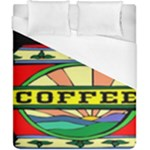 Coffee Tin A Classic Illustration Duvet Cover (California King Size)