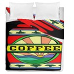 Coffee Tin A Classic Illustration Duvet Cover Double Side (Queen Size)