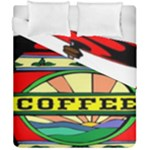 Coffee Tin A Classic Illustration Duvet Cover Double Side (California King Size)