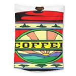 Coffee Tin A Classic Illustration Medium Tapestry