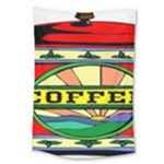 Coffee Tin A Classic Illustration Large Tapestry