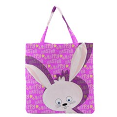 Easter Bunny  Grocery Tote Bag by Valentinaart