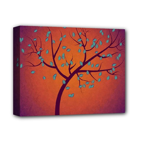 Beautiful Tree Background Deluxe Canvas 14  X 11  by Nexatart