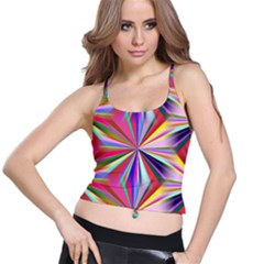 Star A Completely Seamless Tile Able Design Spaghetti Strap Bra Top