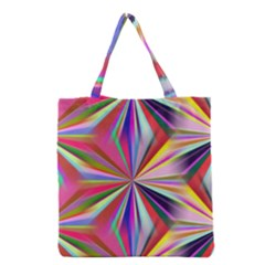 Star A Completely Seamless Tile Able Design Grocery Tote Bag by Nexatart