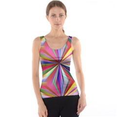 Star A Completely Seamless Tile Able Design Tank Top