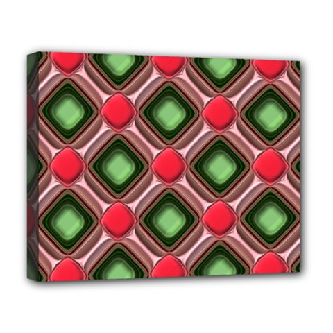 Gem Texture A Completely Seamless Tile Able Background Design Deluxe Canvas 20  X 16   by Nexatart