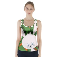 Easter bunny  Racer Back Sports Top by Valentinaart