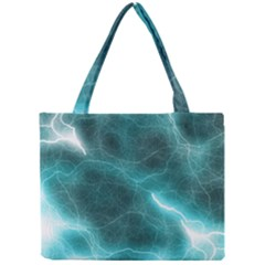 Light Web Colorful Web Of Crazy Lightening Mini Tote Bag by Nexatart