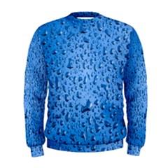 Water Drops On Car Men s Sweatshirt