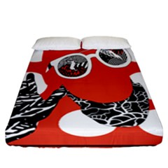 Twenty One Pilots Poster Contest Entry Fitted Sheet (california King Size) by Onesevenart