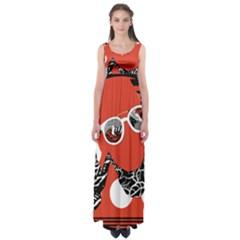 Twenty One Pilots Poster Contest Entry Empire Waist Maxi Dress by Onesevenart