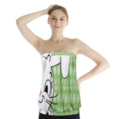 Easter bunny  Strapless Top