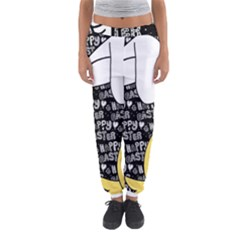 Easter Bunny And Chick  Women s Jogger Sweatpants by Valentinaart