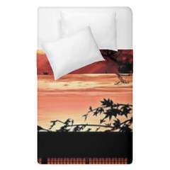 Autumn Song Autumn Spreading Its Wings All Around Duvet Cover Double Side (single Size) by Nexatart