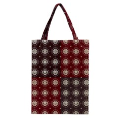 Decorative Pattern With Flowers Digital Computer Graphic Classic Tote Bag by Nexatart