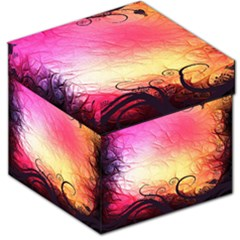 Floral Frame Surrealistic Storage Stool 12   by Nexatart