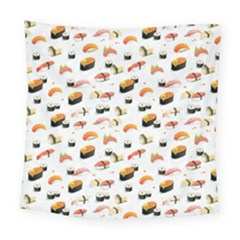 Sushi Lover Square Tapestry (large) by tarastyle