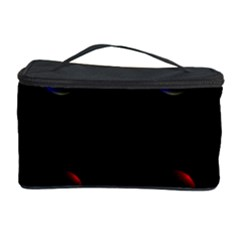 Tranquil Abstract Pattern Cosmetic Storage Case by Nexatart