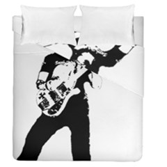 Lemmy   Duvet Cover Double Side (queen Size) by Photozrus