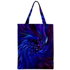 Stylish Twirl Zipper Classic Tote Bag by Nexatart