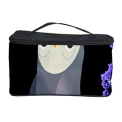 Fractal Image With Penguin Drawing Cosmetic Storage Case by Nexatart