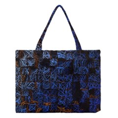 Background Abstract Art Pattern Medium Tote Bag by Nexatart
